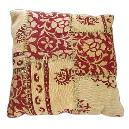 Floral Designed Cushion Cover