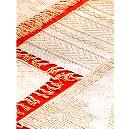 Cotton Rug With Tassels