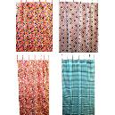 Cotton Made Printed Curtain