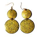 Intricately Designed Colourful Earrings