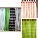 Smooth Finished Decorative Curtain