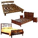 Smooth Finished Wooden Bed