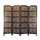Intricately Designed Wooden Partition