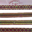 Glossy Finished Designer Jacquard Laces