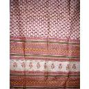 Multicolour Printed Silk Saree