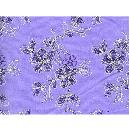 Violet Coloured Embroidered Fabric