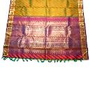 Designer Silk Brocade Saree
