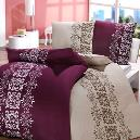 Cotton And Satin Made Bed Cover