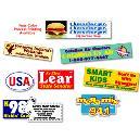 Multicolour Combined Label And Sticker