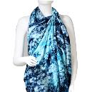 Rayon Made Blue Coloured Sarong