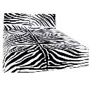 Black And White Designer Printed Quilt