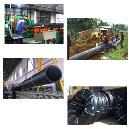Abrasion Resistant HDPE Pipe and Fittings