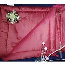 Maroon Coloured Bed Linen