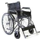 Folding Wheelchair With Swing-Away Leg Rests
