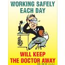 Warning Sticker For Workers