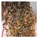 Smooth Textured Curly Hair