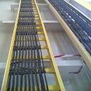 Fibre Glass Reinforced Plastic Made Cable Tray