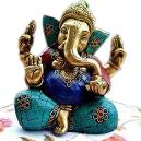 Intricately Designed Ganesha Statue