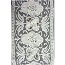 White Coloured Border Lace
