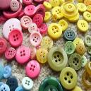 Scratch Resistant Polyester Button