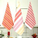 Stripe Designed Smooth Finished Napkin