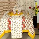 Printed Type Smooth Finished Table Linen