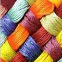 Smooth Finished Synthetic Yarn