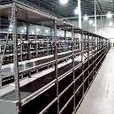 Impact Resistant Slotted Angle Rack
