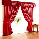 Smooth Finished Home Furnishing Curtain