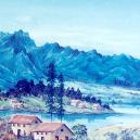 Hand Made Mountain Painting