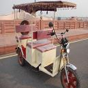 Eco Friendly Rickshaw With Rear Drum Brake