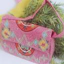 Pink Coloured Bag For Ladies
