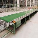 Chain Conveyor With Interlinked Chain