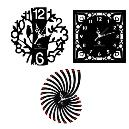 Designer Type Wall Clock