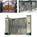 Stainless Steel Made Gate And Grill