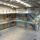 Construction Purpose Mezzanine Floor
