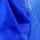 Blue Coloured Polyester Net Fabric