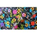 Floral Printed Fabric For Textile Industry