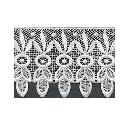 White Coloured Designer Lace