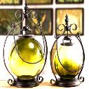 Decorative Type Glass Lantern