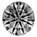 Smooth Finished Round Shaped Diamond