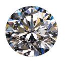 Round Cut Smooth Finished Diamond
