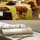 Printed Type Table Linen