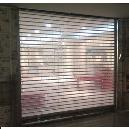 Rolling Polycarbonate Crystal Shutter