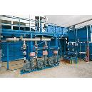Electronic Water Cooled Sewage Treatment Plant