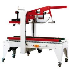 Case Sealer Machine With Automatic Flap Closing