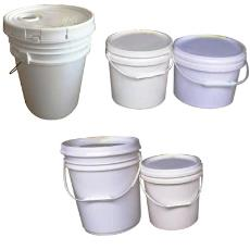 White Coloured Emulsions Container
