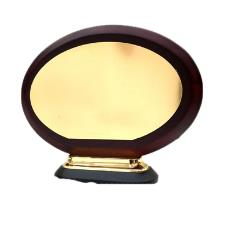 Round Shaped Wooden Trophy