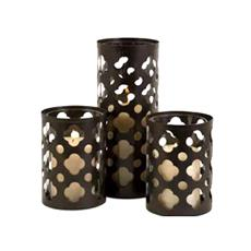 Intricately Designed Pillar Candle Holder