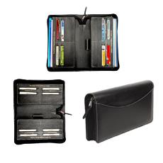 Cheque Book Holder With Pen Loop